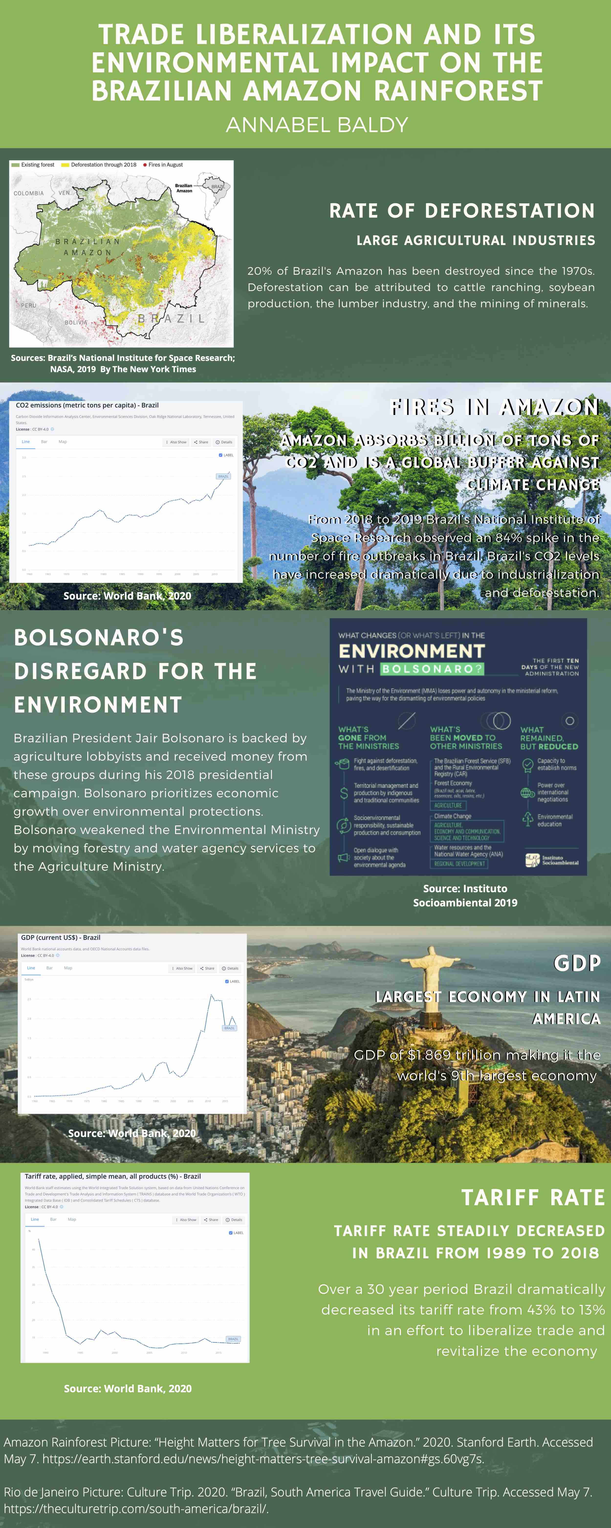 Trade and the environment in Brazil (Annabel Baldy)
